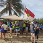 Estudiantes del Colegio Del Carmen se unen a limpieza de playas