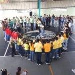Abre el Mes del Rosario en el Colegio San Juan Bosco