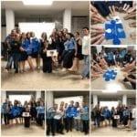 Crean conciencia sobre el autismo en Del Rosario de Vega Baja