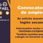 Convocatoria de Empleo [Oct 2019] Colegios San rafael de Quebradillas